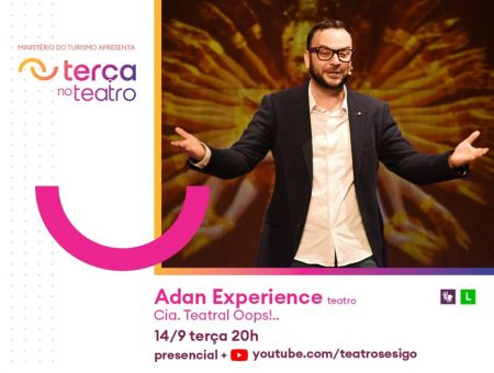 ADAN EXPERIENCE no Teatro SESI GO – Terça no Teatro